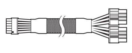 """""""Corsair"""" kuria savo 12 kontaktų maitinimo kabelį skirtą RTX 30 serijai"""