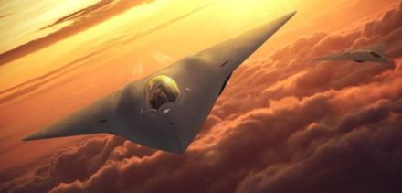 """""""Lockheed Martin"""" NGAD koncepcija – tikrasis naikintuvas dar nebuvo parodytas© """"Lockheed Martin"""""""