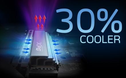 "ADATA praneša apie ""GAMMIX S70"" PCIe 4.0 SSD su iki 6400 MB rašymo greičiu"