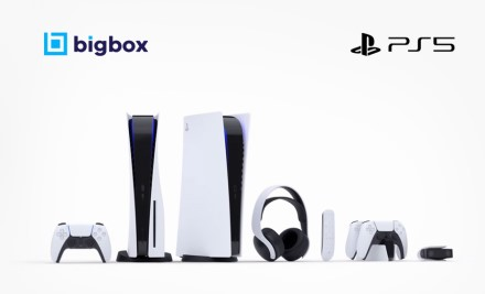 "Laimėk ""Playstation 5"" iš BIGBOX.LT"