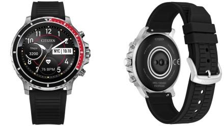 """""""Citizen"""" pristato savo pirmąjį visiškai skaitmeninį išmanųjį laikrodį """"CZ Smart"""""""