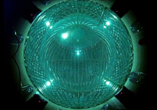 Borexino detektorius © Borexino Collaboration