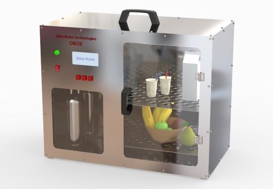 """O-Box"" vizualinis modelis. ""SiMa Water Technologies"" nuotr."