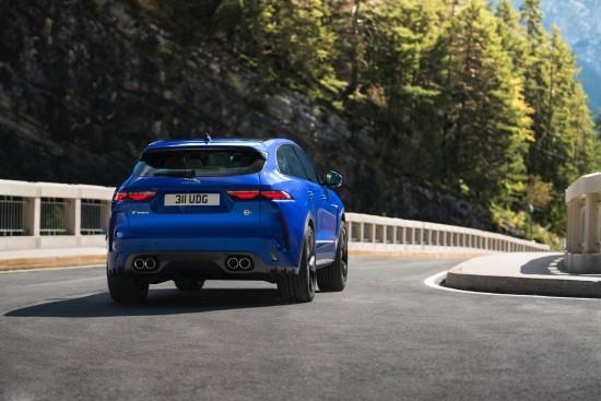 """Jaguar"" pristato ""F-Pace SVR"""