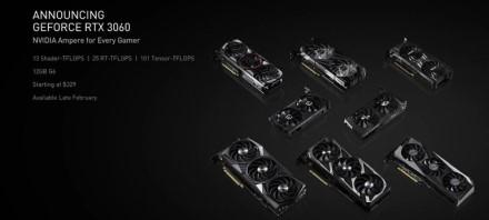 """NVIDIA atskleidė """"RTX 3060"""" 12 GB"""