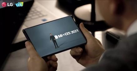 CES 2021 parodos metu LG paslapčia pademonstravo savo naujausią šedevrą
