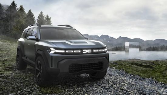 "Pristatomas koncepcinis ""Dacia Bigster"""