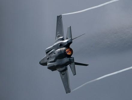 """F-35"" varikliai veikia itin ekstremaliomis sąlygomis © wikimedia.org"