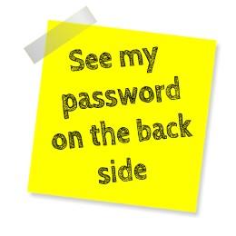 Geras slaptažodis pirmiausia yra saugus