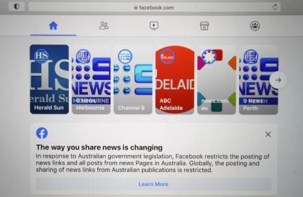 """Australija kaip reikiant susikibo su """"Facebook"""""""