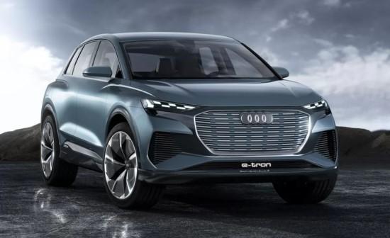 """""""Audi Q4 e-tron"""" (laukiama: 2021 metais)"""