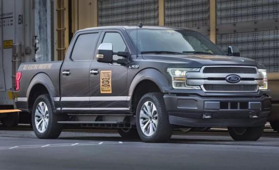 """Ford F-150 Electric"" (laukiama: 2021 metais)"