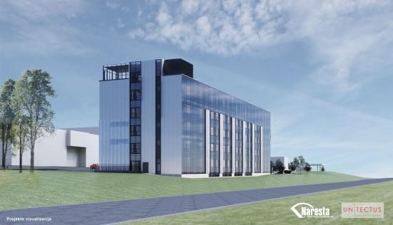 Vilniuje pradedamas statyti naujas 8,5 mln. Eur vertės mokslinių tyrimų, eksperimentinės plėtros ir inovacijų centras