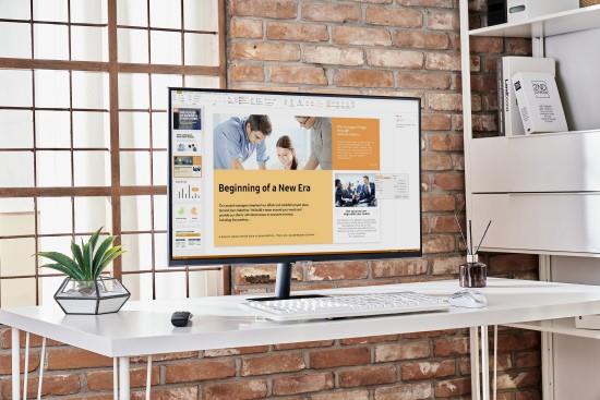 """""""Samsung"""" pristatė naujos kartos išmaniuosius monitorius darbui, mokslams ir laisvalaikiui"""
