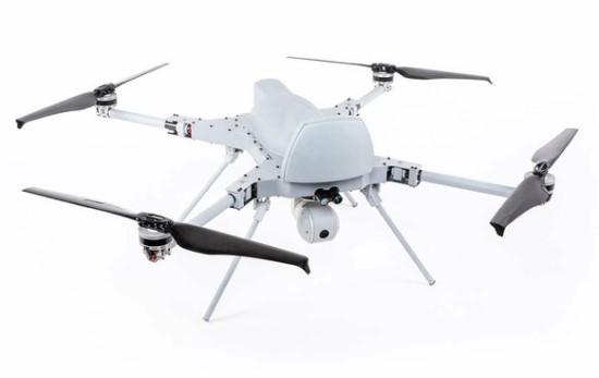 """""""Kargu-2"""" kvadrakopteris yra ginkluotas sprogstamu užtaisu ir gali atakuoti autonomiškai © EMRE CAVDAR/STM"""