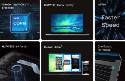 """""""Huawei"""" turi ką parodyti ir be telefonų: pristatytas naujas nešiojamas kompiuteris"""