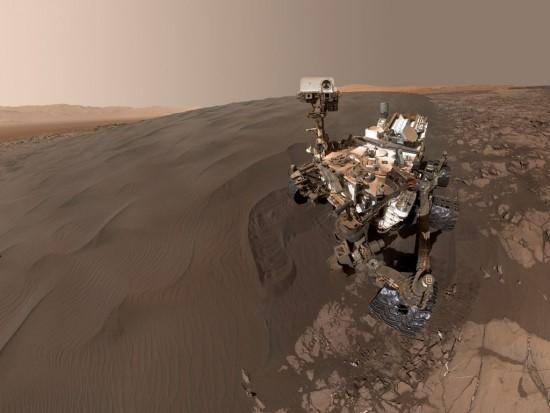 "NASA/ ""Curiosity"" nuotr./""Curiosity"" nufotografavo Marso kopas"