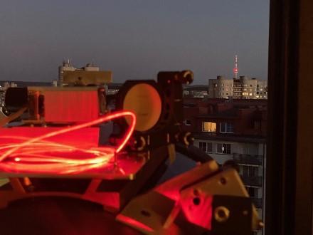 """""""Astrolight""""bandymas su lazeriniu ryšiu / Bendrovės archyvo nuotr."""
