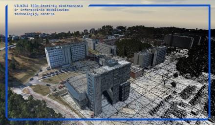 """""""Vilnius Tech"""" išmanusis_skaitmeninis miestelis Saulėtekyje. Sukūrė Žygimantas Pagalys"""