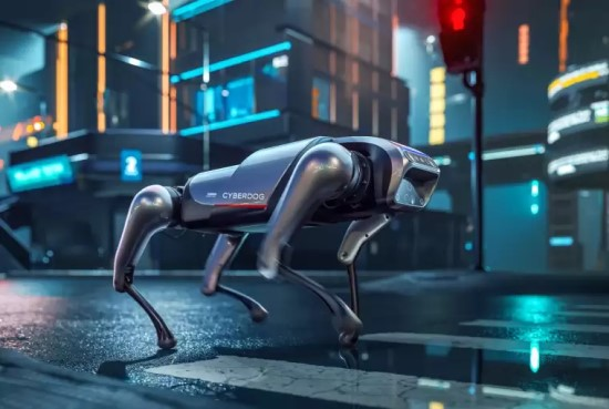 """""""Xiaomi"""" pristatė šunį pakeisiantį robotą už 1300€"""
