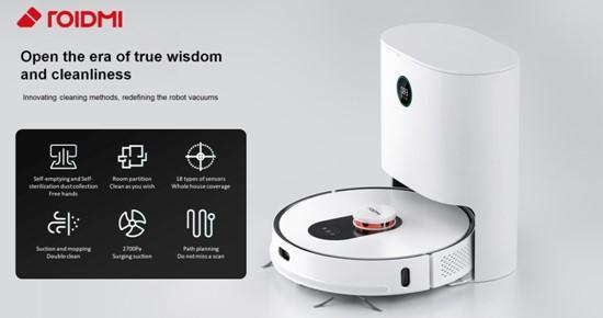 "Pristatoma ""Xiaomi ROIDMI"" roboto siurblio istorija"