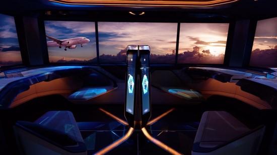 """""""Hyundai"""" pademonstravo transporto priemonę iš ateities"""