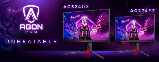 """""""AGON PRO AG324UX"""": 4K raiška, 144 Hz atnaujinimo dažnis, 1 ms GtG ir HDR400 palaikymas"""