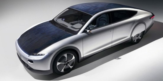 """""""Lightyear One"""" turi 5 kvadratinių metrų saulės jėgainę. Gamintojo nuotrauka"""