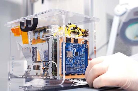 """""""Intel"""" lustas palydove su dirbtiniu intelektu  © Tim Herman/""""Intel Corporation"""""""