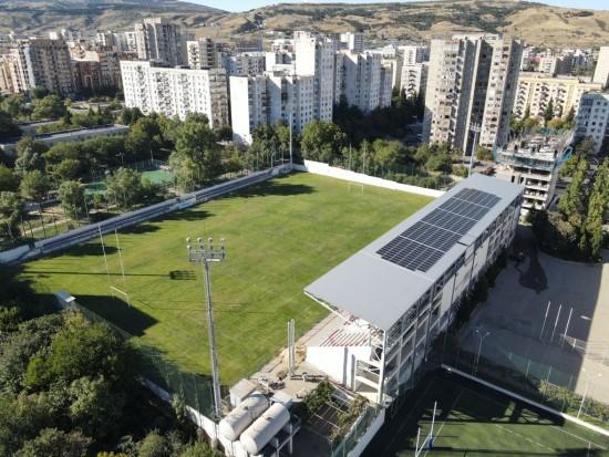 Sakartvelo regbio bazėse – lietuviškos saulės elektrinės