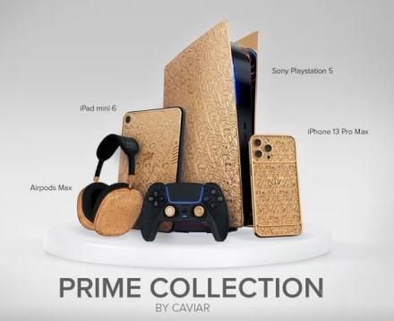 """""""Caviar"""" pristatė itin prabangias """"PlayStation 5"""" bei """"Apple"""" produktų versijas"""