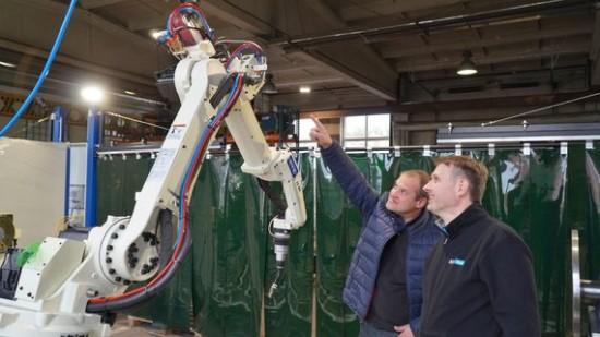 Robotų gamyba. Gamintojo nuotr.